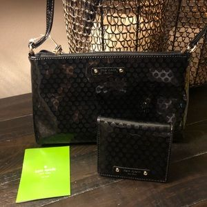 KATE SPADE🔥♠️ CROSSBODY BAG & MATCHING WALLET